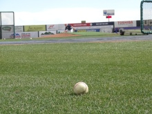 The Sky Sox practiced on their home field on Tuesday.